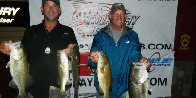 HOWE / THOMPSON TOP 28 TEAMS ON CANYON LAKE