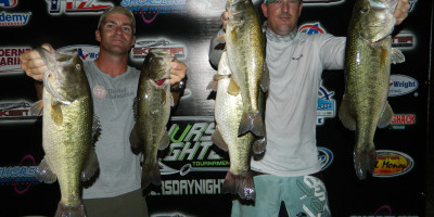 BRAD NICHOLS & JD STEPHENS TOP 37 TEAMS ON DUNLAP