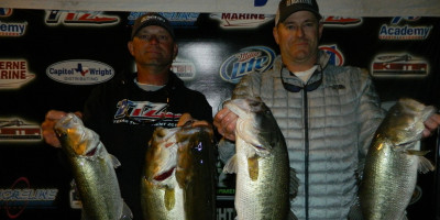 CHARLES WHITED & GARRET NIES TOP 28 TEAMS ON DUNLAP WITH A SOLID 19.67LBS