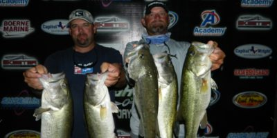 CHARLES WHITED & BILL POLKINGHORN WEIGH IN 17.80 POUNDS ON CANYON TO BEST 46 TEAMS