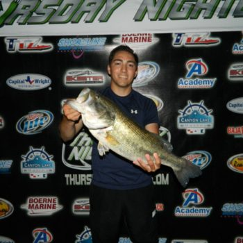 3RD PLACE & BIG BASS – ERIC SALINAS / CHASE CHAVEZ