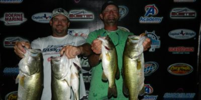 WHITED & POLKINGHORN WEIGH-IN 17.53LBS ON CANYON FOR ANOTHER WIN