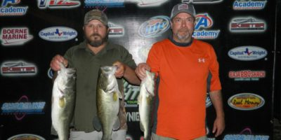 ANTHONY SKOUBY & BOB PRESCOTT TOP 39 TEAMS ON A STINGY LAKE DUNLAP