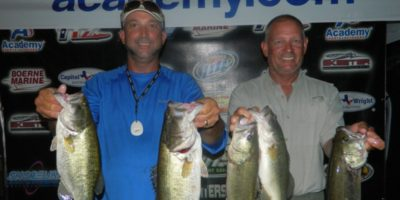 THOMAS HOWE & PHILLIP THOMPSON TOP 38 TEAMS ON LAKE DUNLAP
