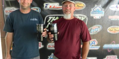 CRAIG MUSSELMAN & JASON FUNDERBURK WIN THE 2016 CHAMPIONSHIP ON CHOKE CANYON AND WIN $3500
