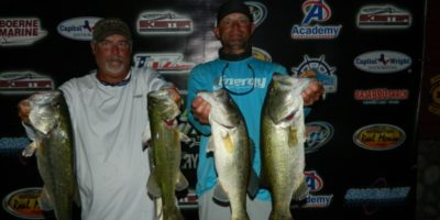 CHARLES WHITED & DEREK CONE TOP 46 TEAMS WITH 17.37 POUNDS AND TAKE HOME $980