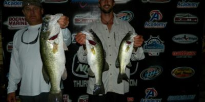 PAT AMICK & RYAN ASH TOP 56 TEAMS ON CANYON WITH 12.53 POUNDS