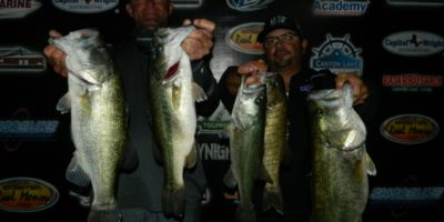 LEE BEUERSHAUSEN & CHARLES WHITED WEIGH IN A NEW RECORD BAG ON CANYON AND TAKE HOME NEARLY $4000