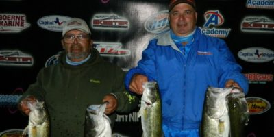 DANIEL RODRIGUEZ & DAVID JARA WEIGH 17.09 LBS TOPPING 45 TEAMS AND WIN $740 PLUS $500 SKEETER BONUS