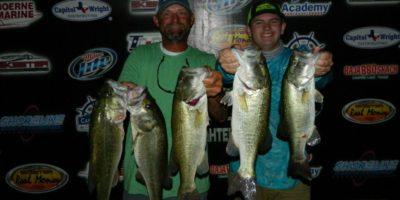 CHARLES WHITED & TY BRUMLEY TOP A RECORD FIELD OF 65 TEAMS WITH 16.90LBS