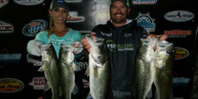 ROSS & JENN WRIGHT WEIGH IN 15.43LBS TO TOP 64 TEAMS AND WIN OVER $2500