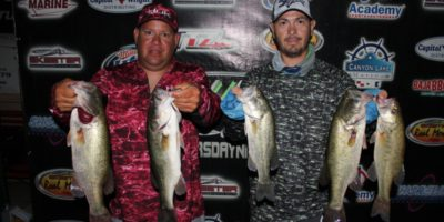 JASON OLIVO & JOEY RODRIGUEZ TOP 60 TEAMS ON CANYON WITH 11.28 POUNDS AND WIN OVER $1200