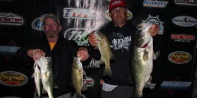 PAT AMICK & CRAIG JACKSON WIN HEAVY STRINGER AND BIG BASS ON A WINDY CANYON AND TAKE HOME OVER $1000