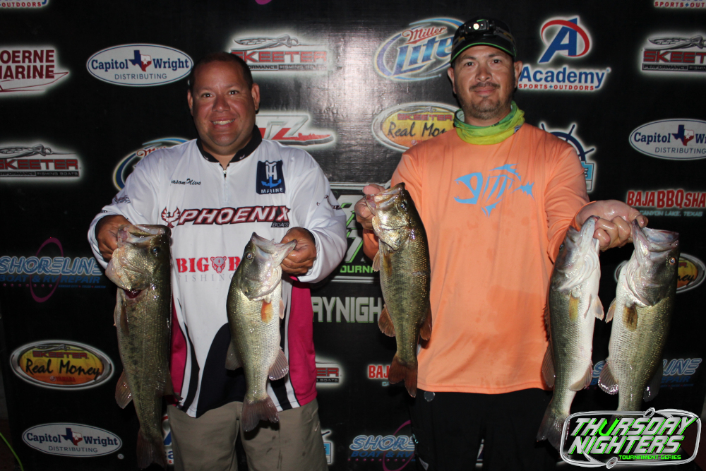 JASON OLIVIO & JOEY RODRIGUEZ BRING IN 15.55 TO THE SCALES