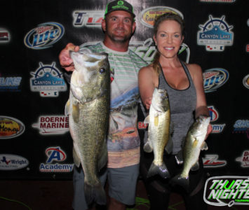 4th Place & Big Bass – PRATT KRAMER / KATIE KRAMER