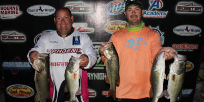 JASON OLIVIO & JOEY RODRIGUEZ BRING IN 15.55 TO THE SCALES AND TAKE THE WIN ON CANYON