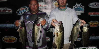 JASON OLIVIO & JOEY RODRIGUEZ RETURN TO WINNERS CIRCLE TOPPING 43 TEAMS ON CANYON WITH 14.26 LBS