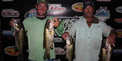COLE ADKINSON & DONNIE MARSHALL WIN ON CANYON WITH 13.09LBS AND TAKE HOME $800