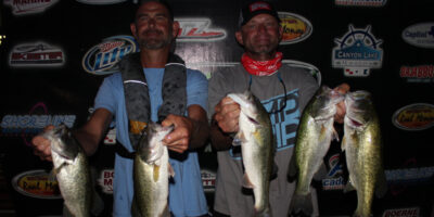 TREY GROCE & CHARLES WHITED TOP 45 TEAMS ON CANYON AND WIN $900
